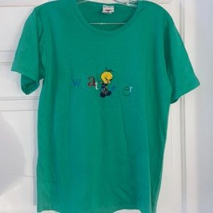Looney Tunes embroidered shirt